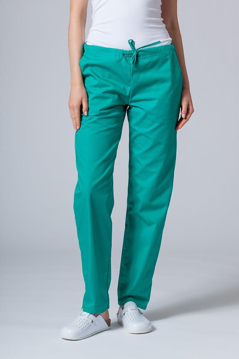 Spodnie medyczne uniwersalne Sunrise Uniforms zielone