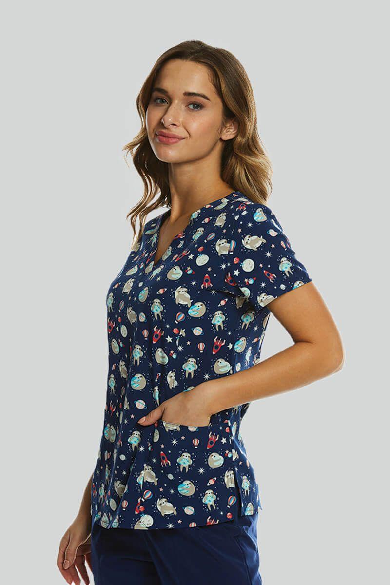 Kolorowa bluza damska Maevn Prints poza światem