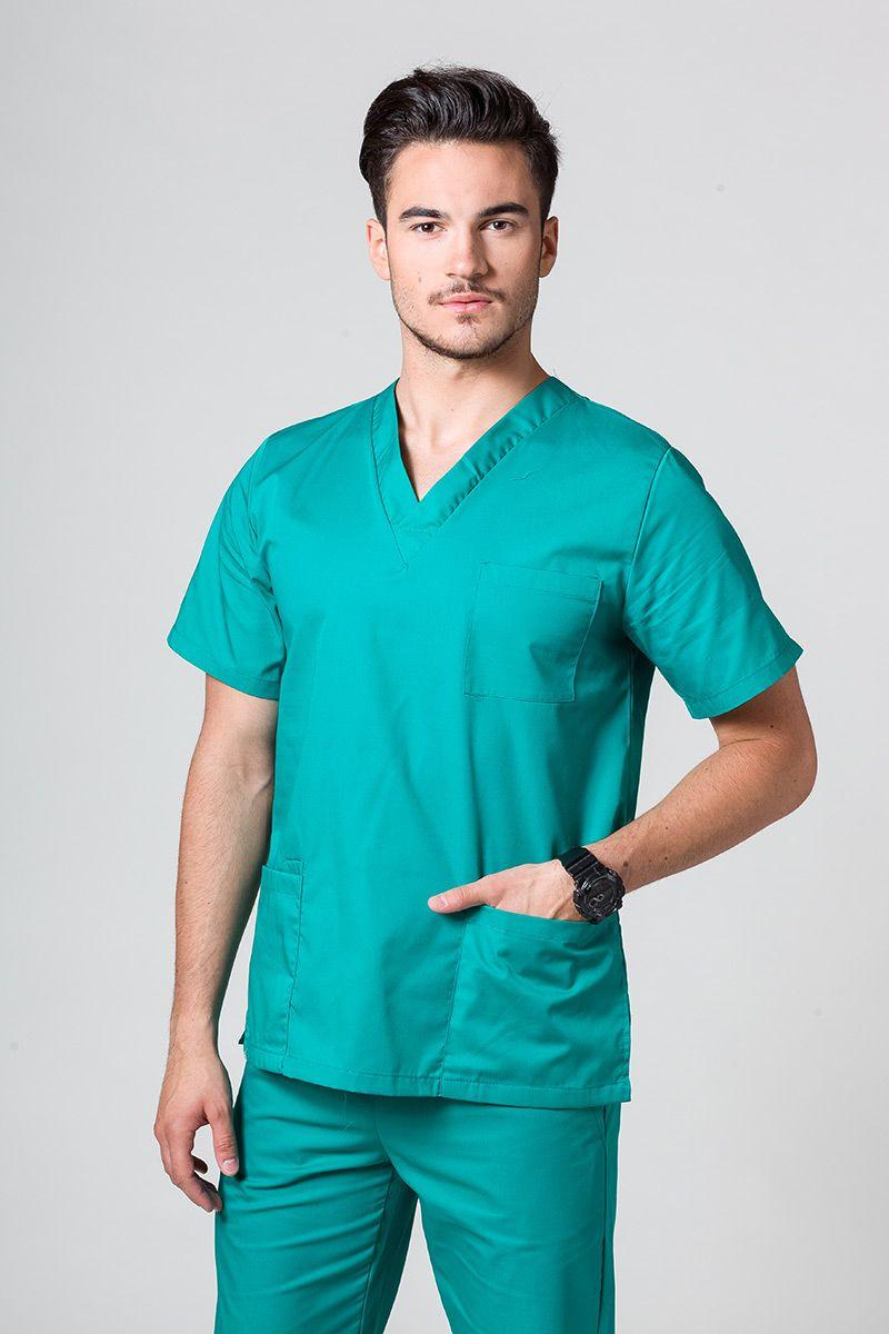 Bluza medyczna uniwersalna Sunrise Uniforms zielona