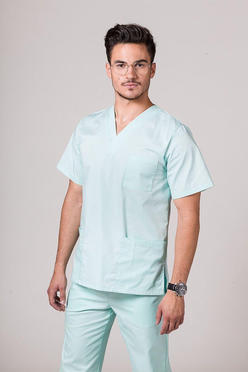 Bluza medyczna uniwersalna Sunrise Uniforms miętowa