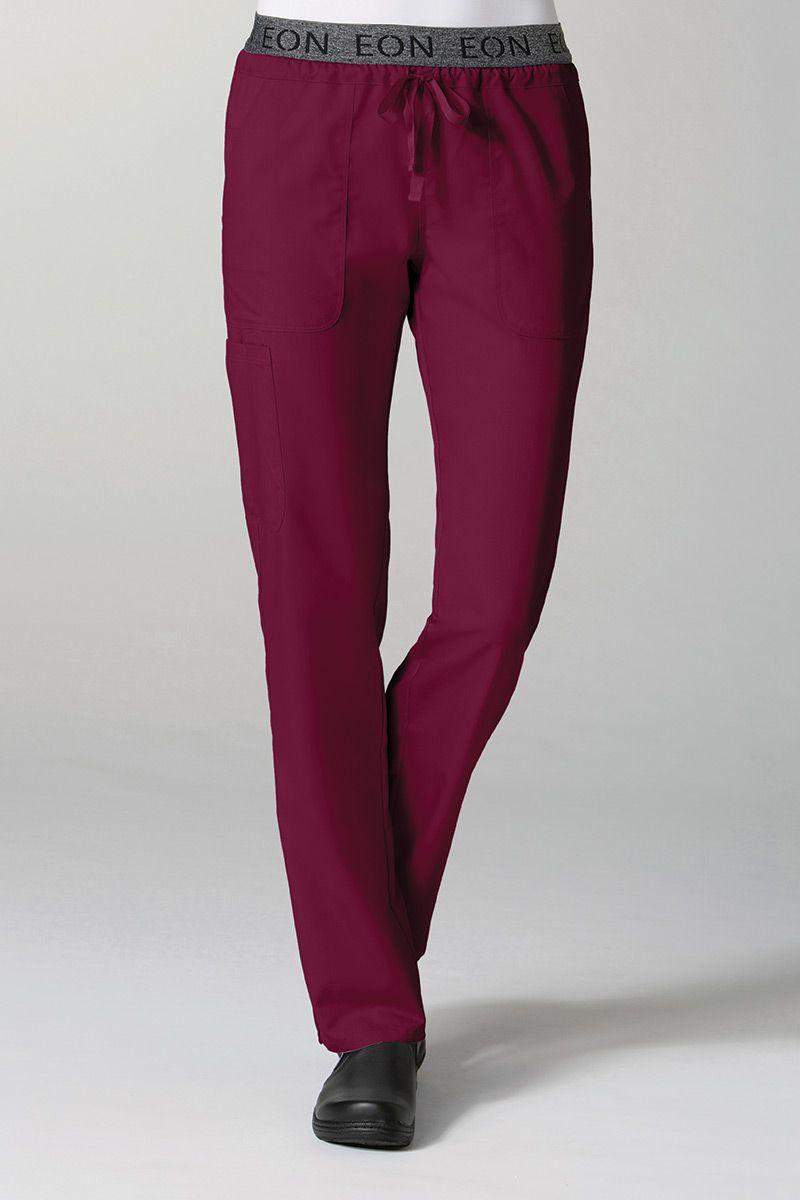 Spodnie damskie Maevn EON Style wiśniowe