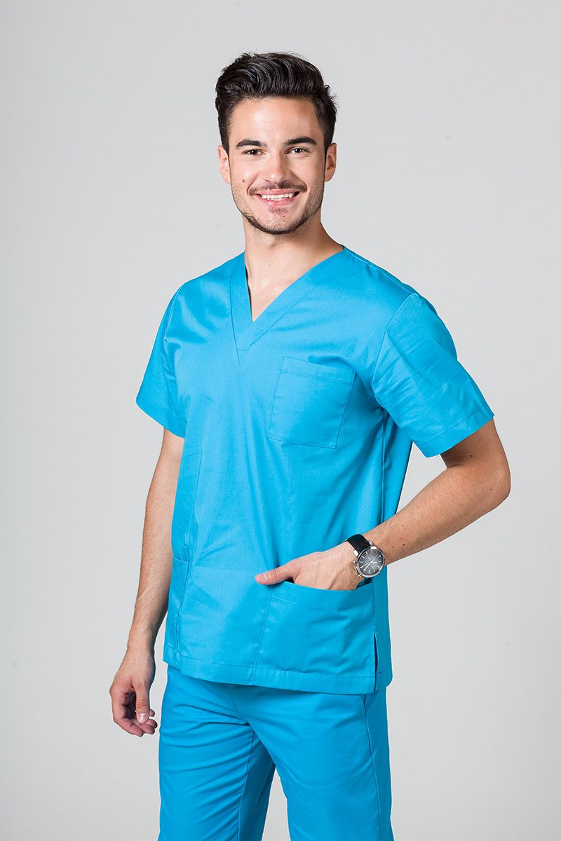 Bluza medyczna uniwersalna Sunrise Uniforms turkusowa