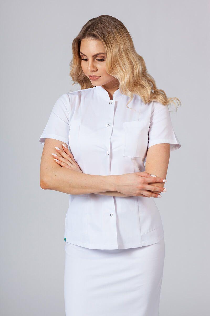 Żakiet ze stójką Sunrise Uniforms biały