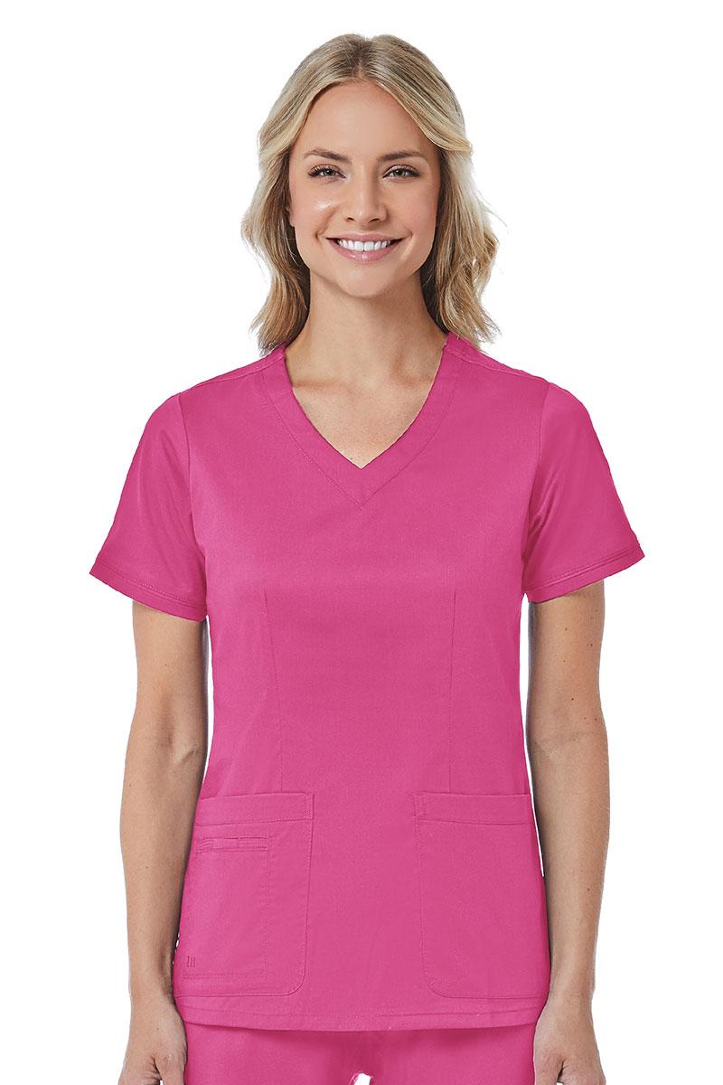 Bluza damska Maevn Blossom (elastic) różowa
