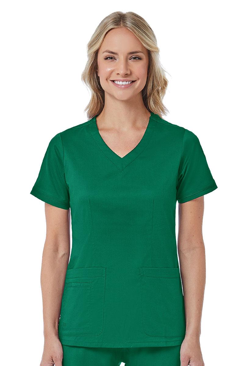 Bluza damska Maevn Blossom (elastic) zielona