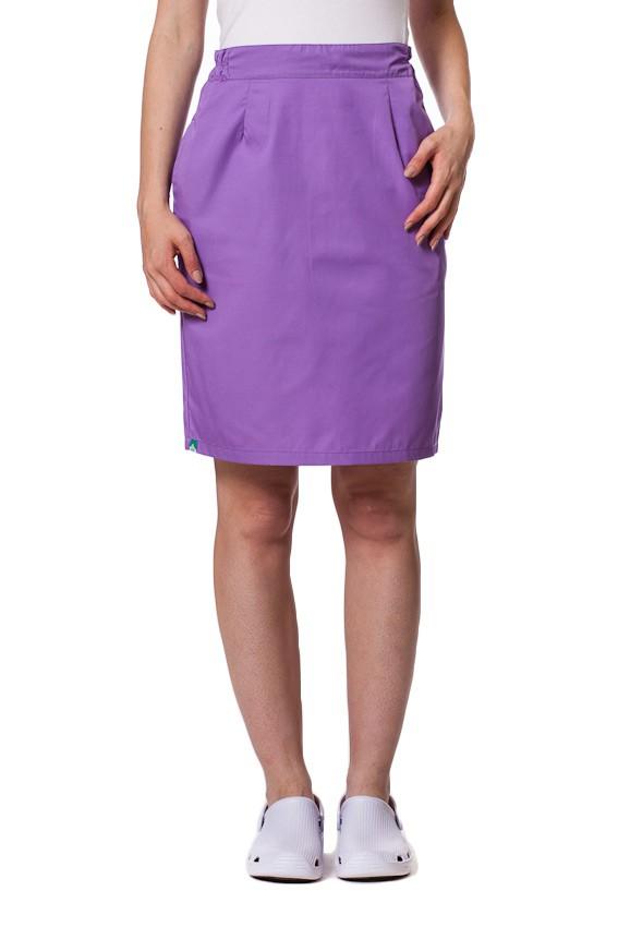 Spódnica medyczna z kieszeniami Sunrise Uniforms fioletowa