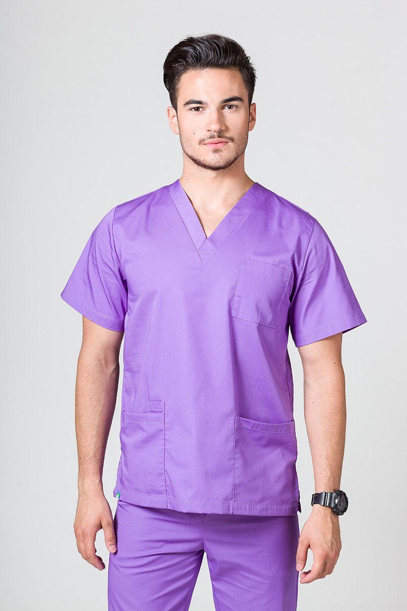 Bluza medyczna uniwersalna Sunrise Uniforms fioletowa