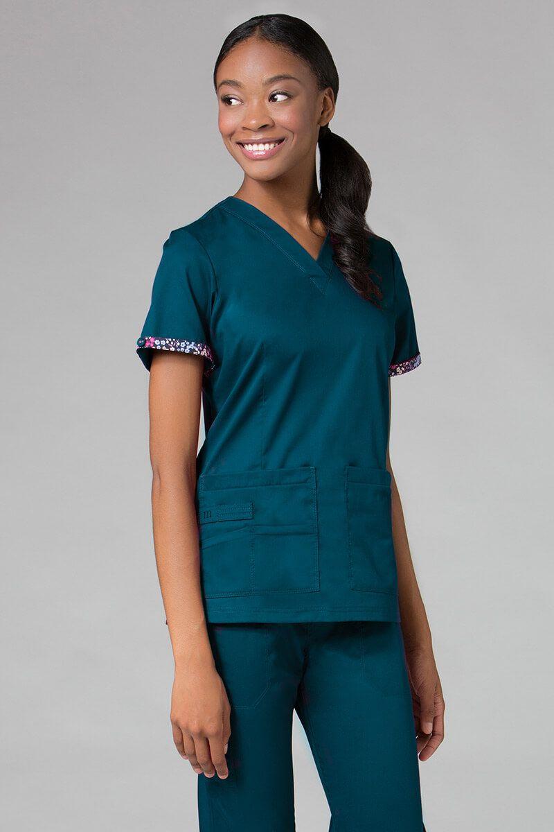 Bluza damska Maevn PrimaFlex karaibski błękit