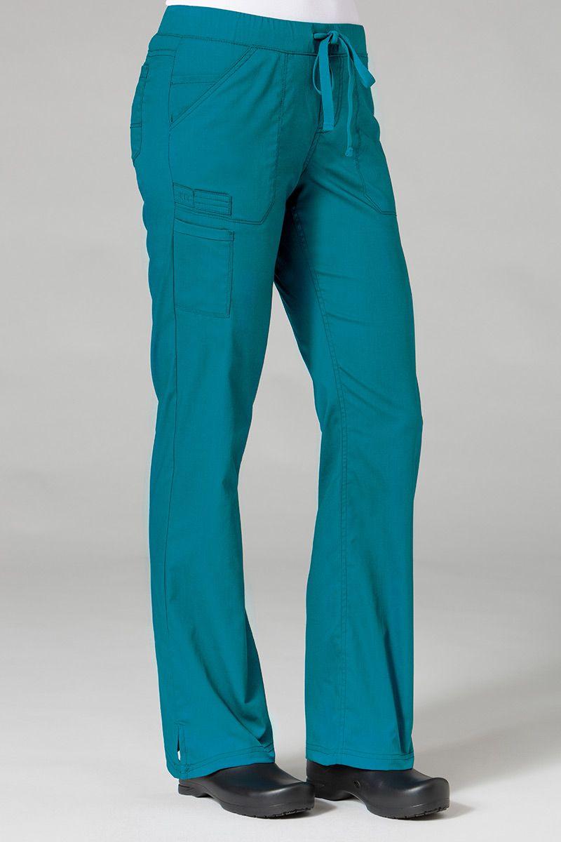 Spodnie medyczne damskie Maevn PrimaFlex morski błękit