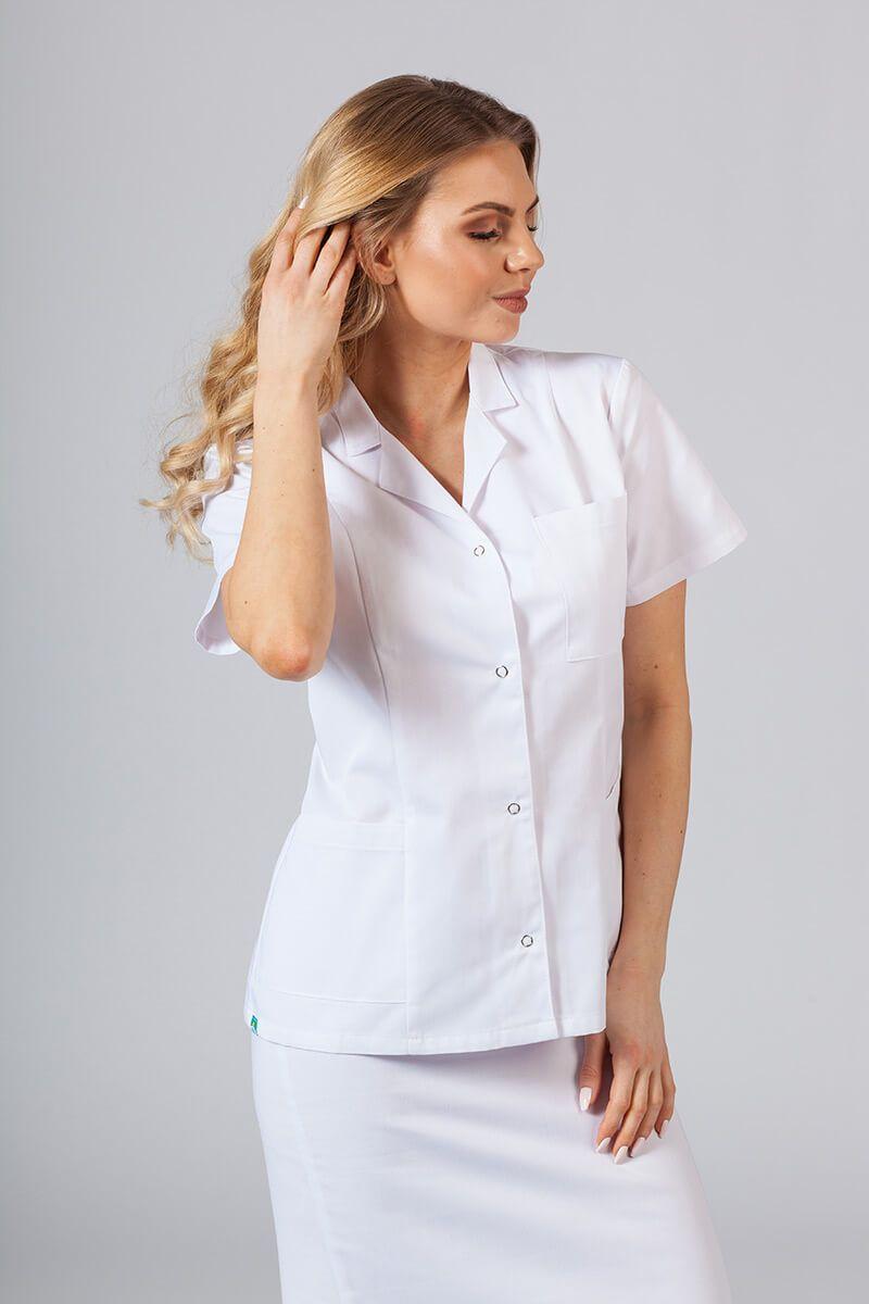 Żakiet z kołnierzem Sunrise Uniforms biały