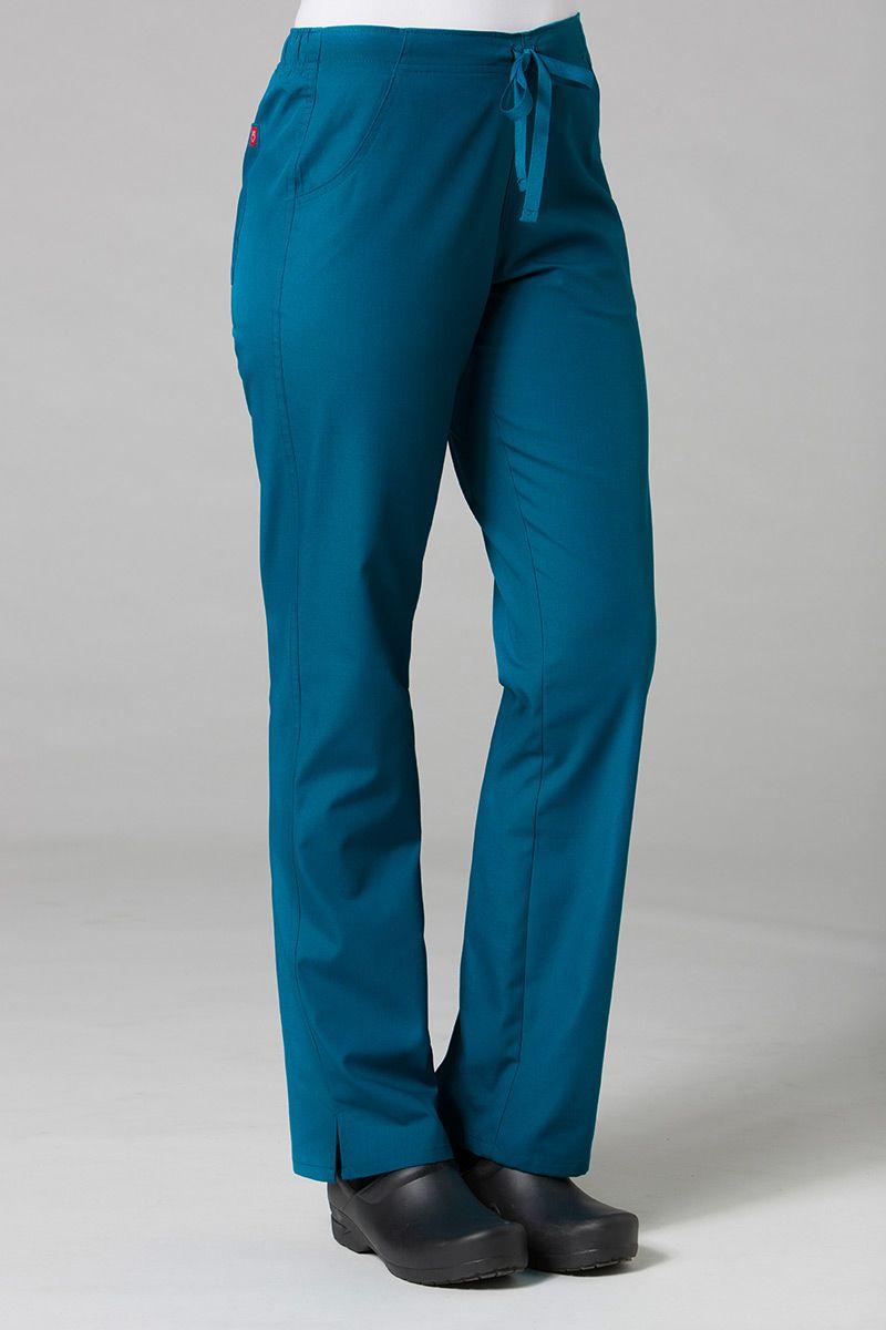 Spodnie damskie Maevn Red Panda karaibski błękit