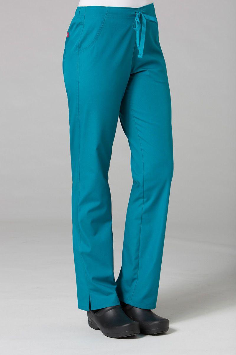 Spodnie damskie Maevn Red Panda morski błękit