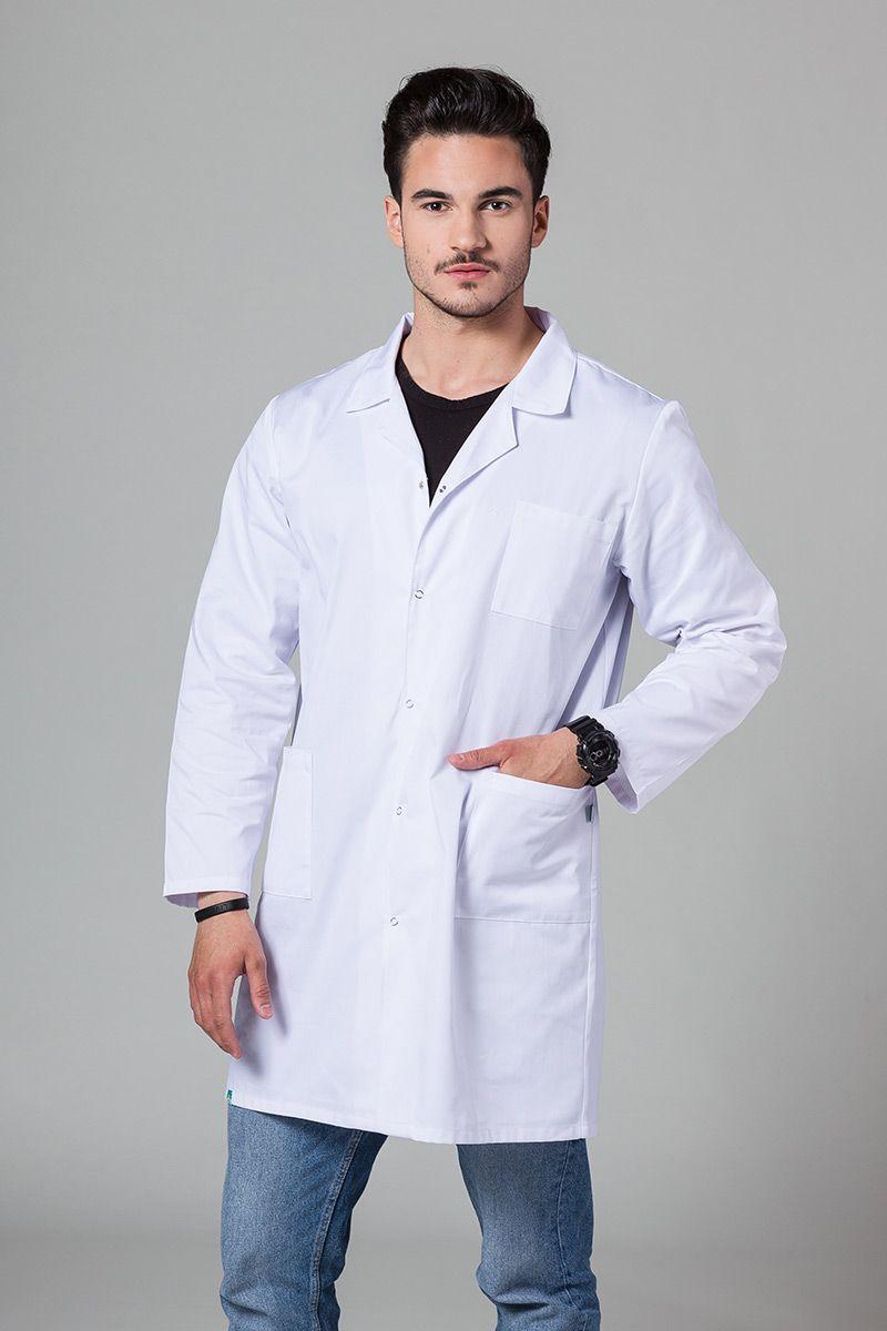 Fartuch Medyczny Klasyczny Sunrise Uniforms biały