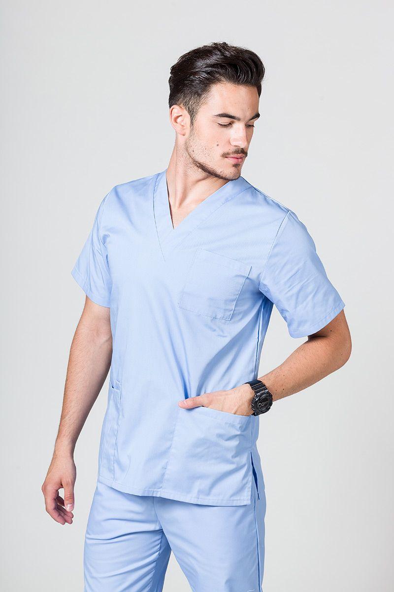 Bluza medyczna uniwersalna Sunrise Uniforms niebieska