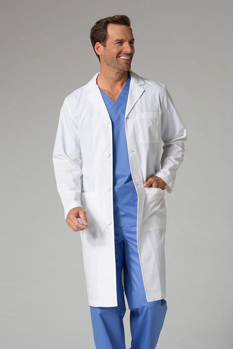 Fartuch medyczny męski Maevn Red Panda Biały (długi)