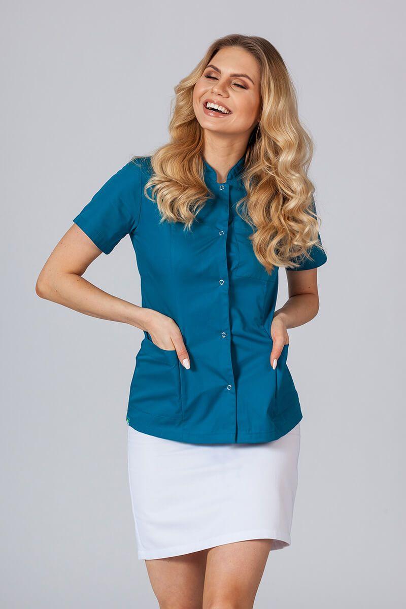 Żakiet ze stójką Sunrise Uniforms Karaibski Błękit
