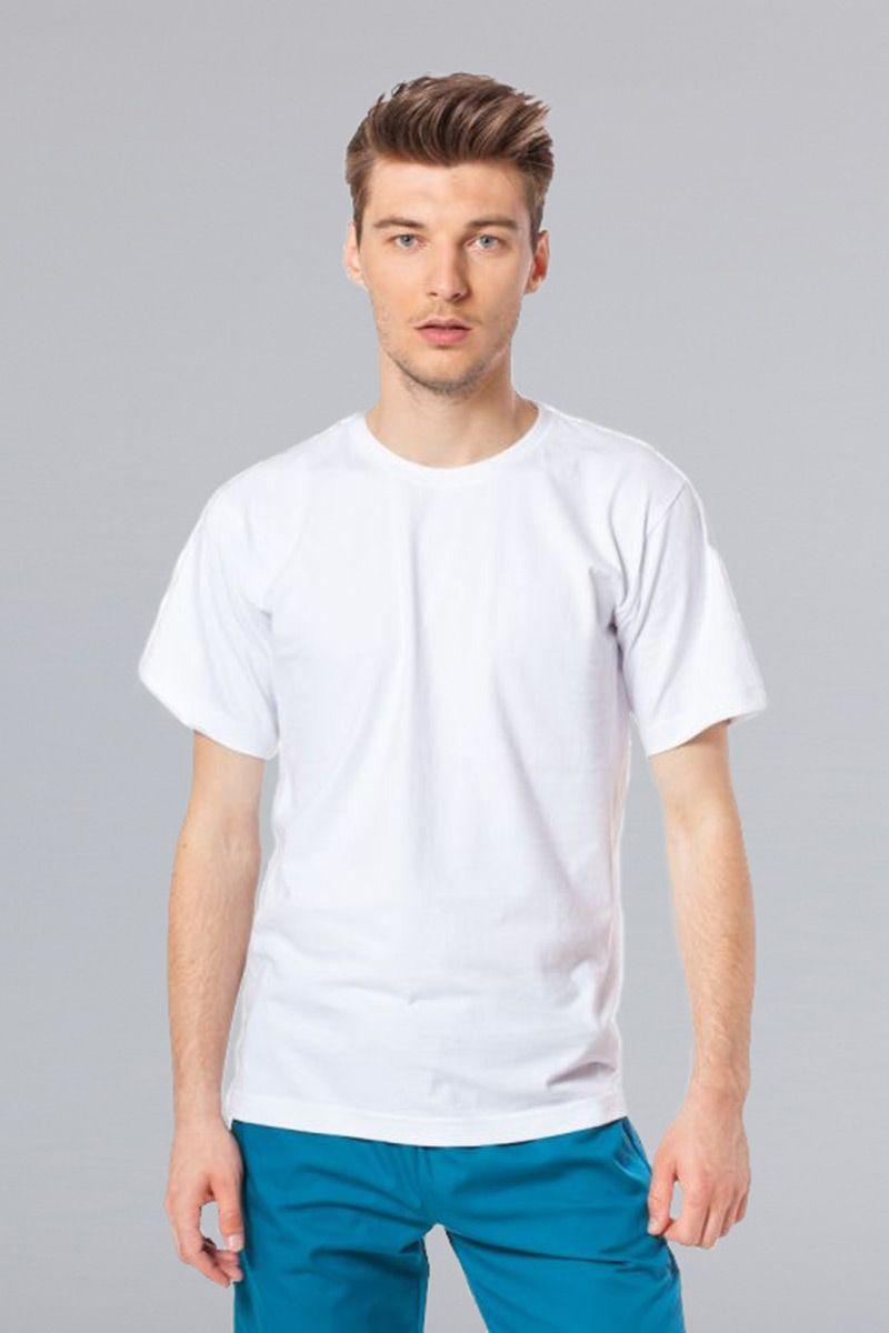 Męska koszulka, t-shirt Malfini biała