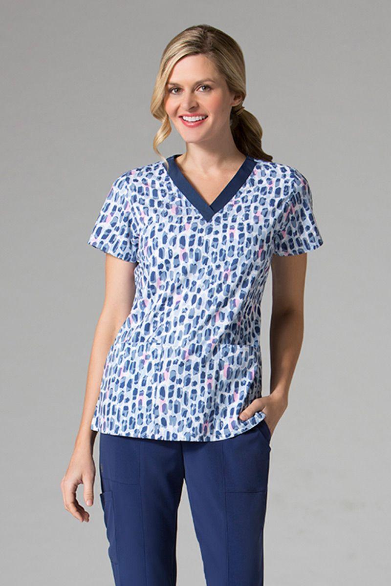 Kolorowa bluza damska Maevn Prints płatki