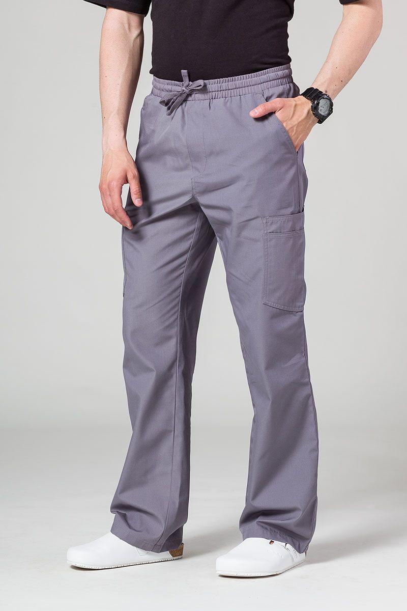 Spodnie męskie Maevn Red Panda Cargo (6 kieszeni) szare