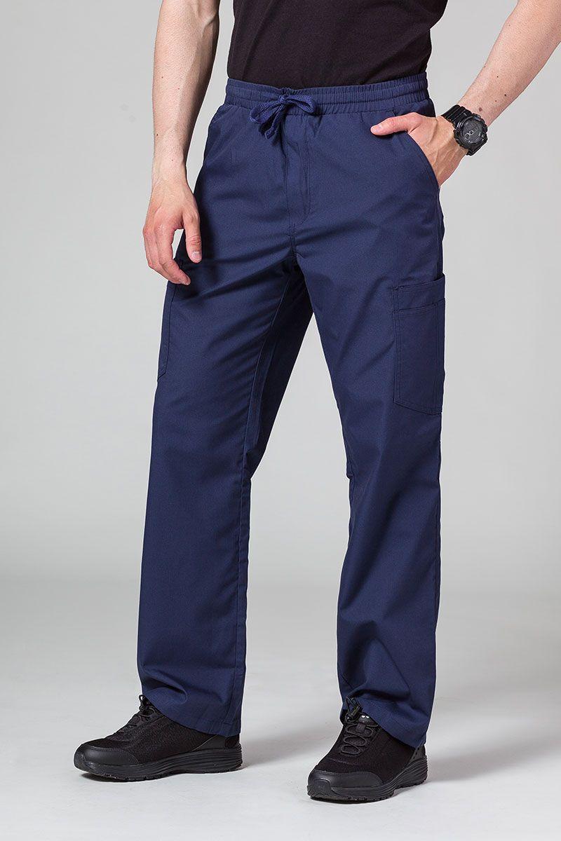 Spodnie męskie Maevn Red Panda Cargo (6 kieszeni) ciemny granat