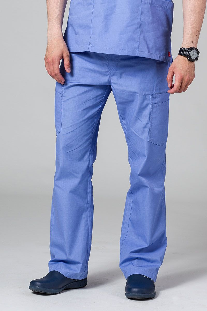 Spodnie męskie Maevn Red Panda Cargo (6 kieszeni) klasyczny błękit