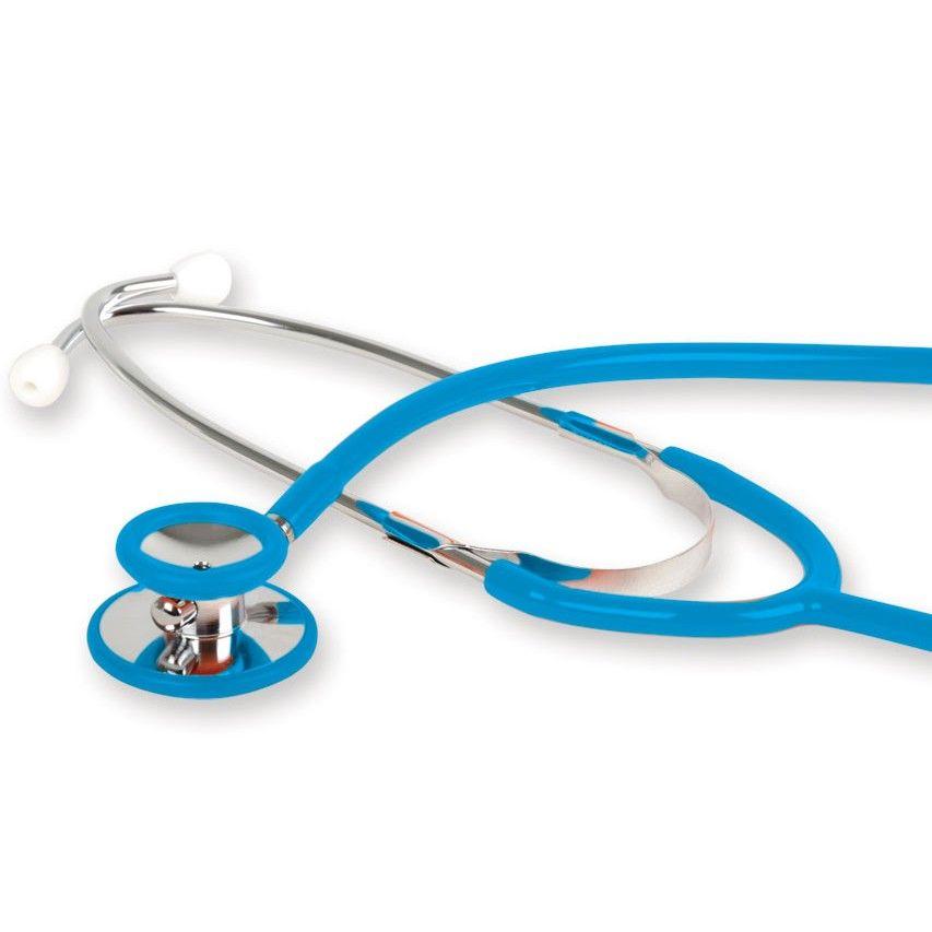 Stetoskop internistyczny GIMA WAN DOUBLE HEAD - niebieski