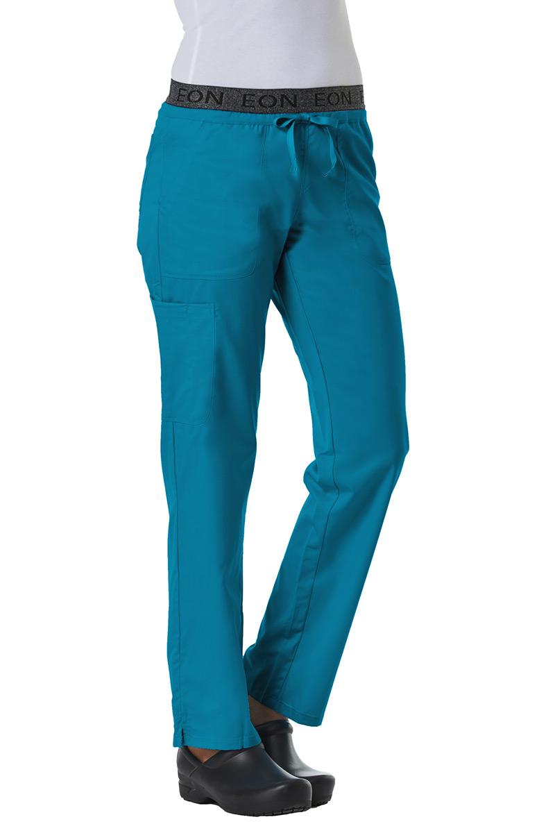 Spodnie damskie Maevn EON Style morski błękit