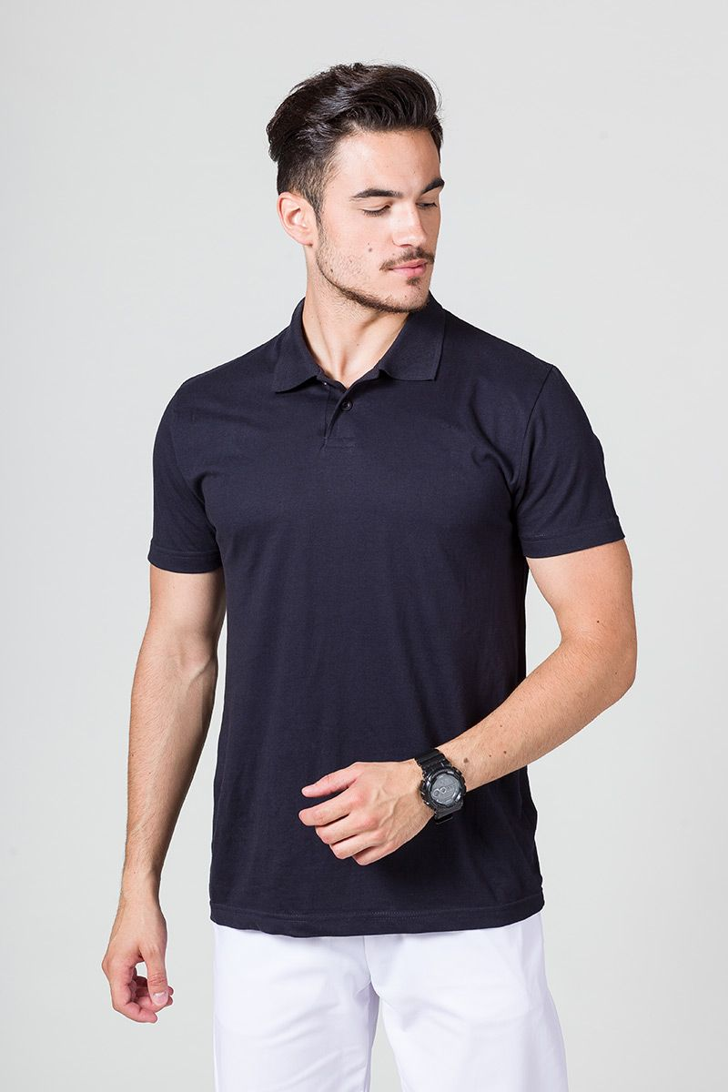 Koszulka męska Polo granatowa