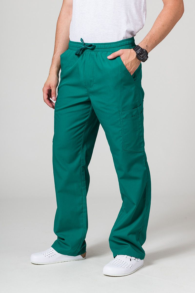 Spodnie męskie Maevn Red Panda Cargo (6 kieszeni) zielone