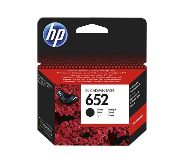 Tusz HP 652 Deskjet Ink czarny, oryginalny