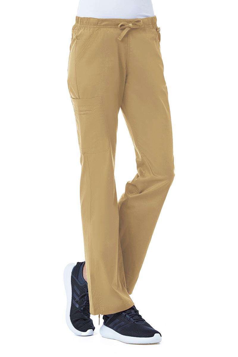 Spodnie medyczne damskie Maevn Blossom (elastic) beżowe