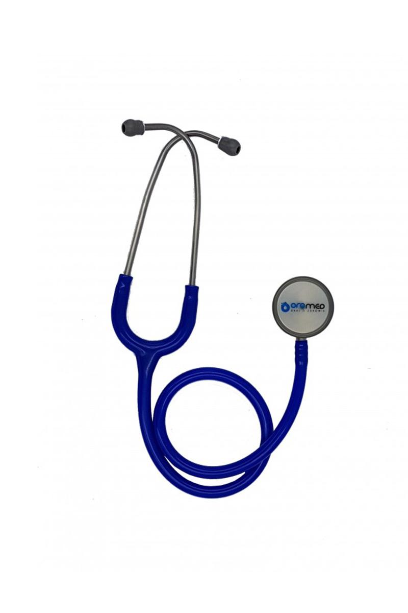 Stetoskop internistyczny Oromed, dwustronny - granatowy