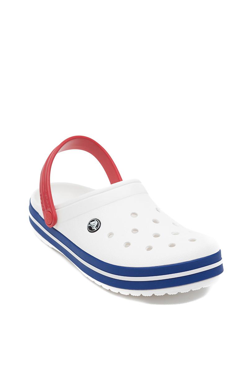 Obuwie Crocs™ Classic Crocband białe/blue jean