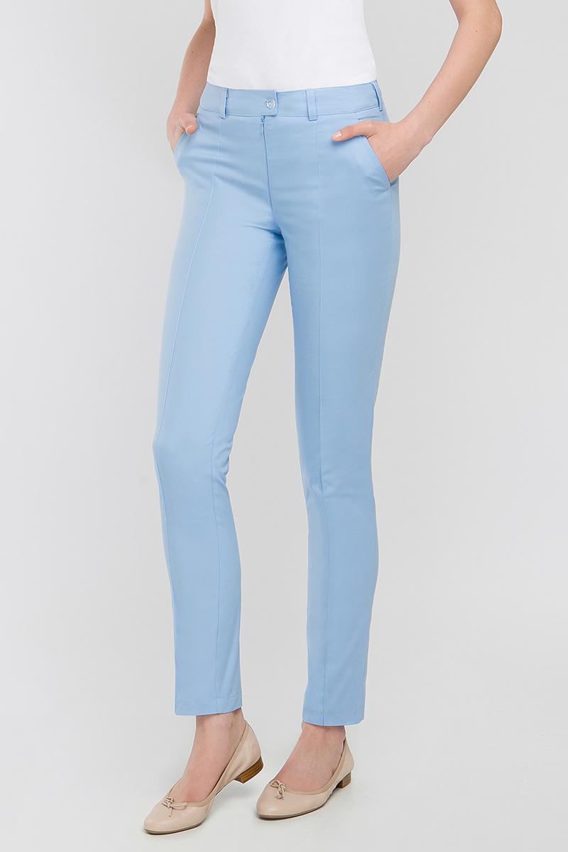Spodnie medyczne rurki Vena Cindy błękitne