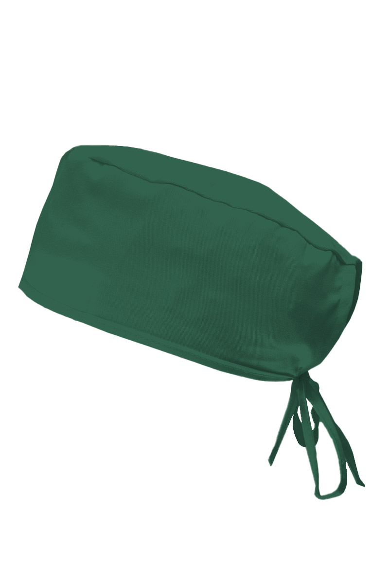 Czepek Sunrise Uniforms butelkowa zieleń
