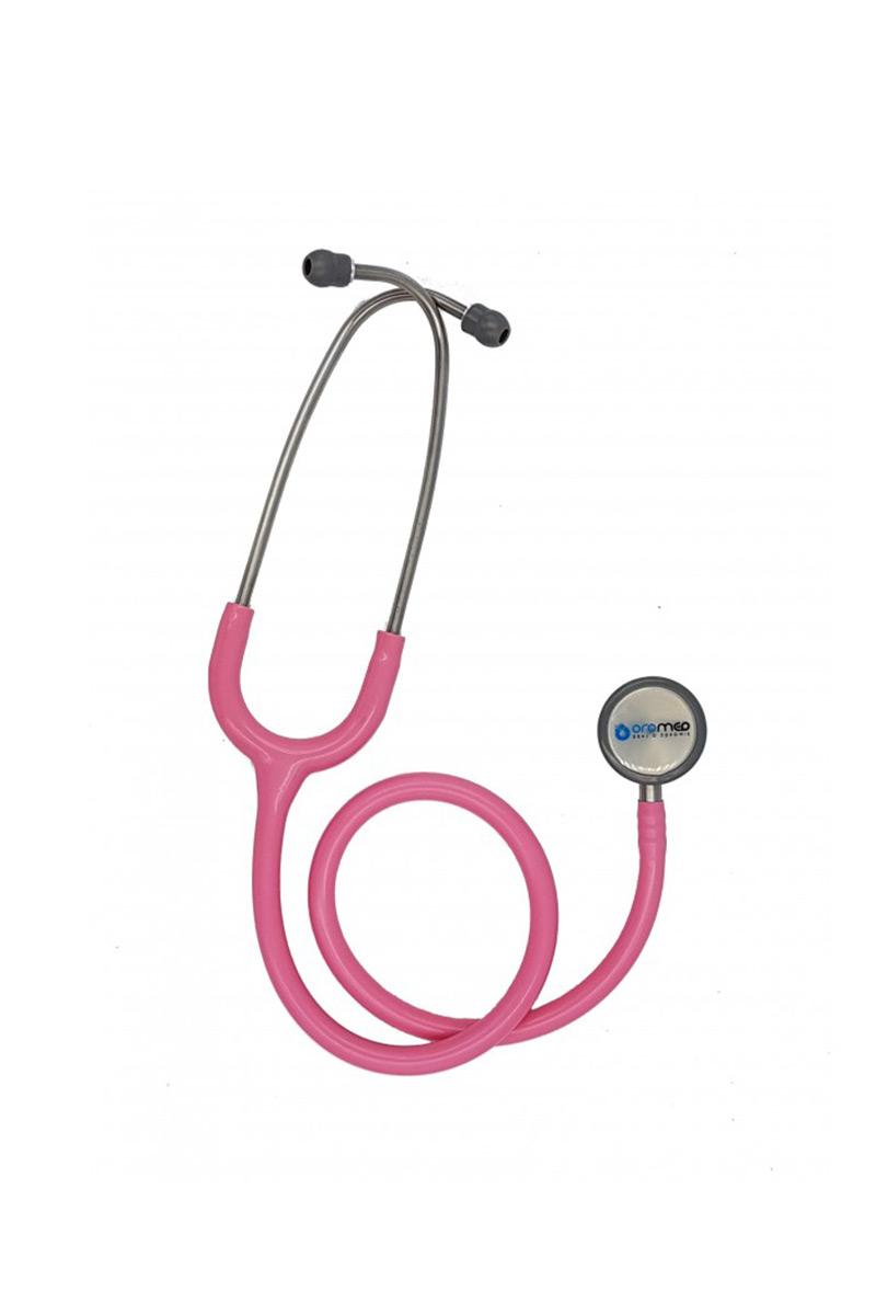 Stetoskop pediatryczny Oromed, dwustronny - różowy