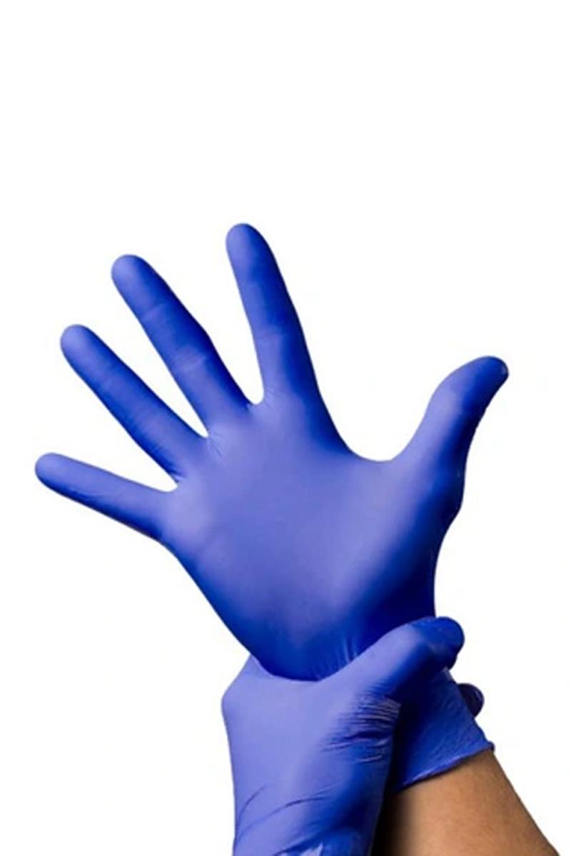 Atestowane rękawice nitrylowe SteriProtect, bezpudrowe, niebieskie, 10 szt w opakowaniu (Steripak). Deklaracja Zgodności. CE