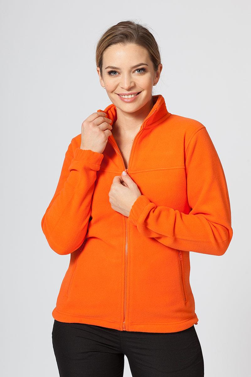 Damska bluza polarowa Malfini pomarańczowa