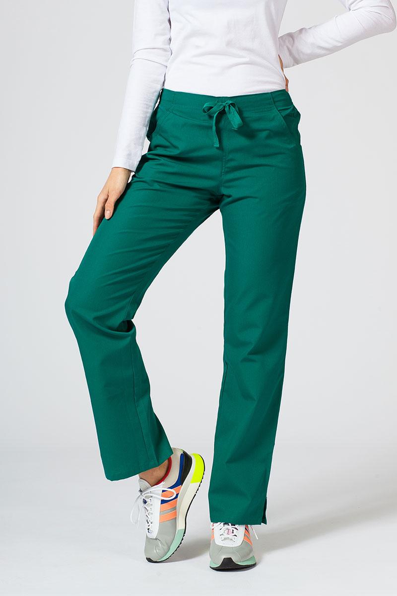 Spodnie damskie Maevn Red Panda zielone