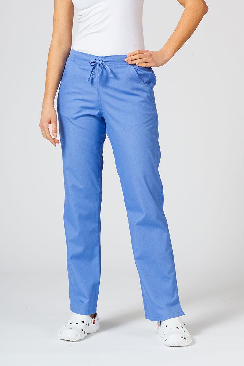 Spodnie damskie Maevn Red Panda klasyczny błękit