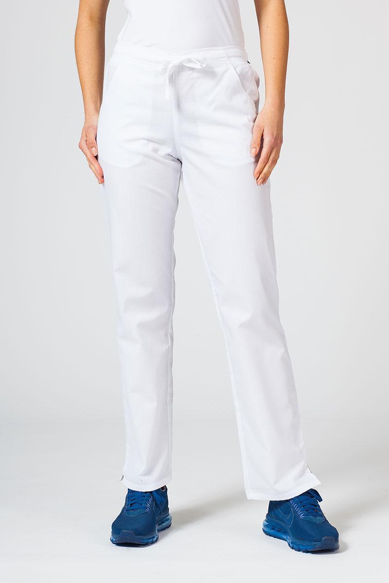 Spodnie damskie Maevn Red Panda białe