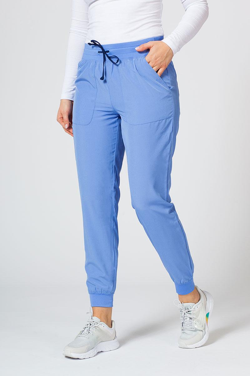 Spodnie damskie Maevn Matrix Impulse Jogger klasyczny błękit