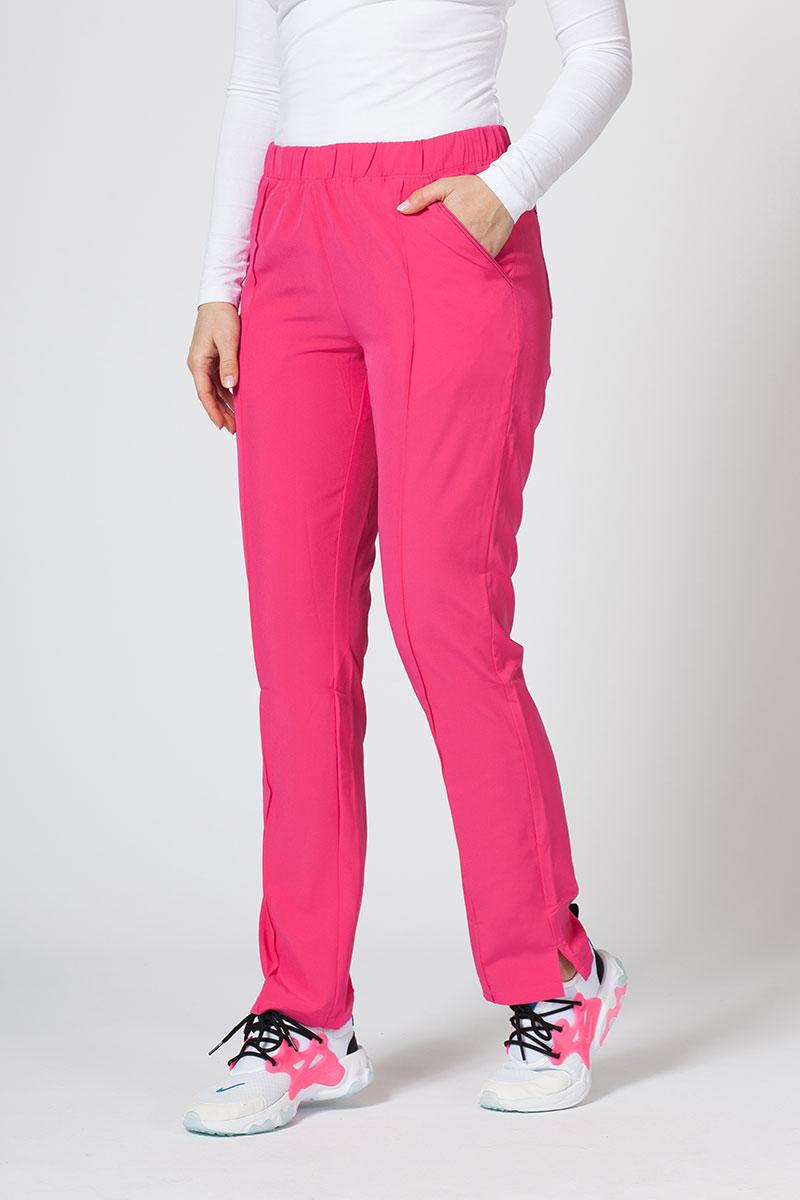 Spodnie damskie Maevn Matrix Impulse różowe