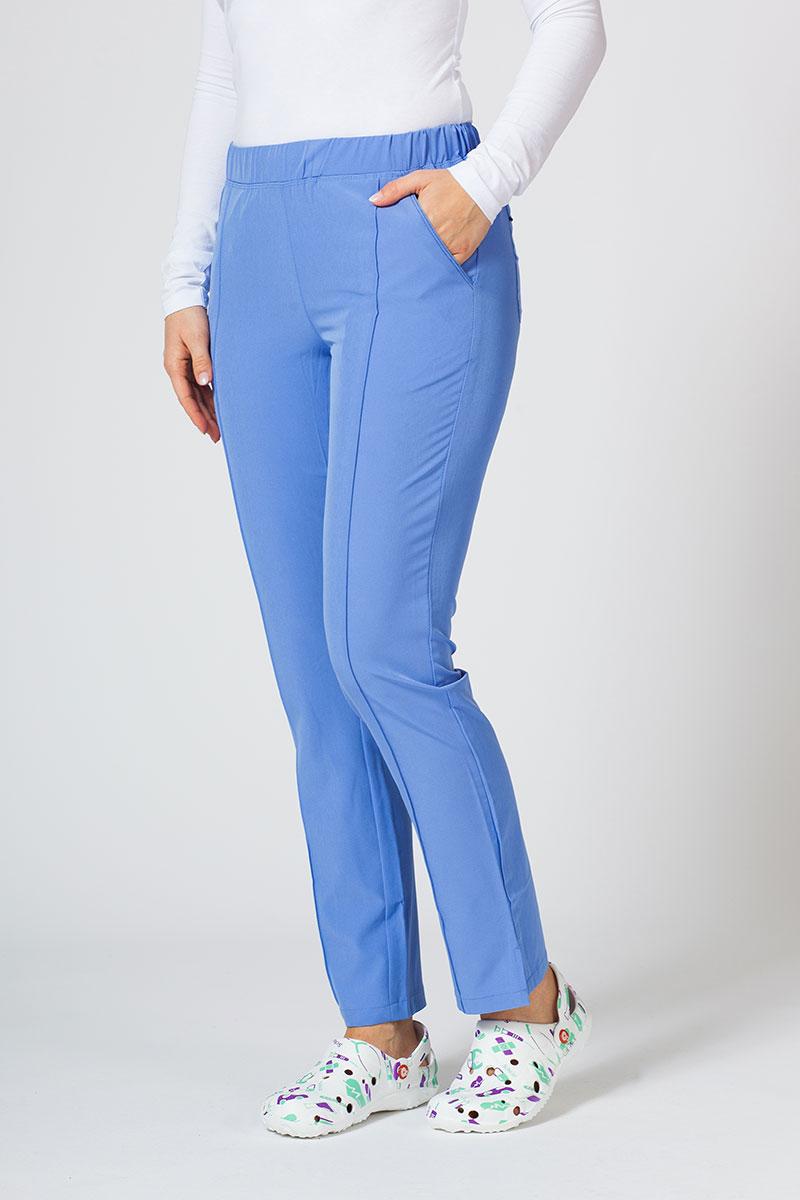 Spodnie damskie Maevn Matrix Impulse klasyczny błękit