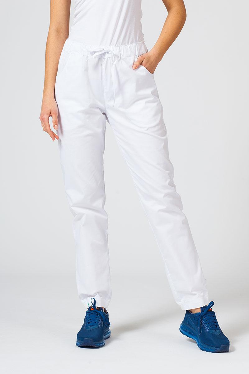 Spodnie medyczne Sunrise Uniforms Active (elastic) białe