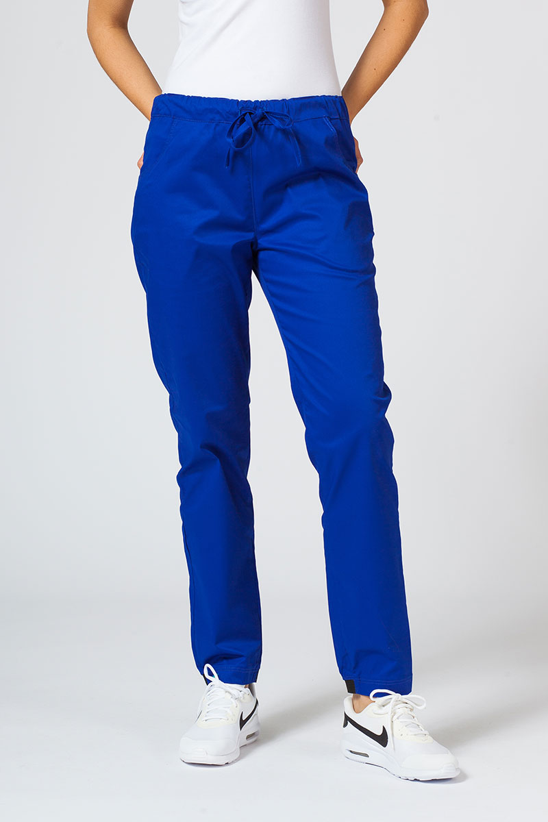 Spodnie medyczne Sunrise Uniforms Active (elastic) granatowe