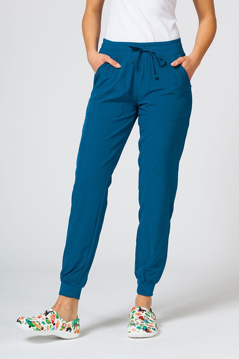 Spodnie damskie Maevn Matrix Impulse Jogger karaibski błękit