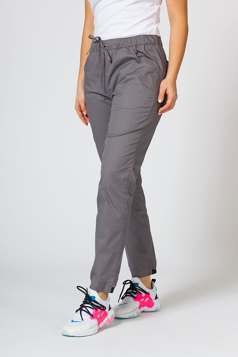 Spodnie medyczne Sunrise Uniforms Active (elastic) szare
