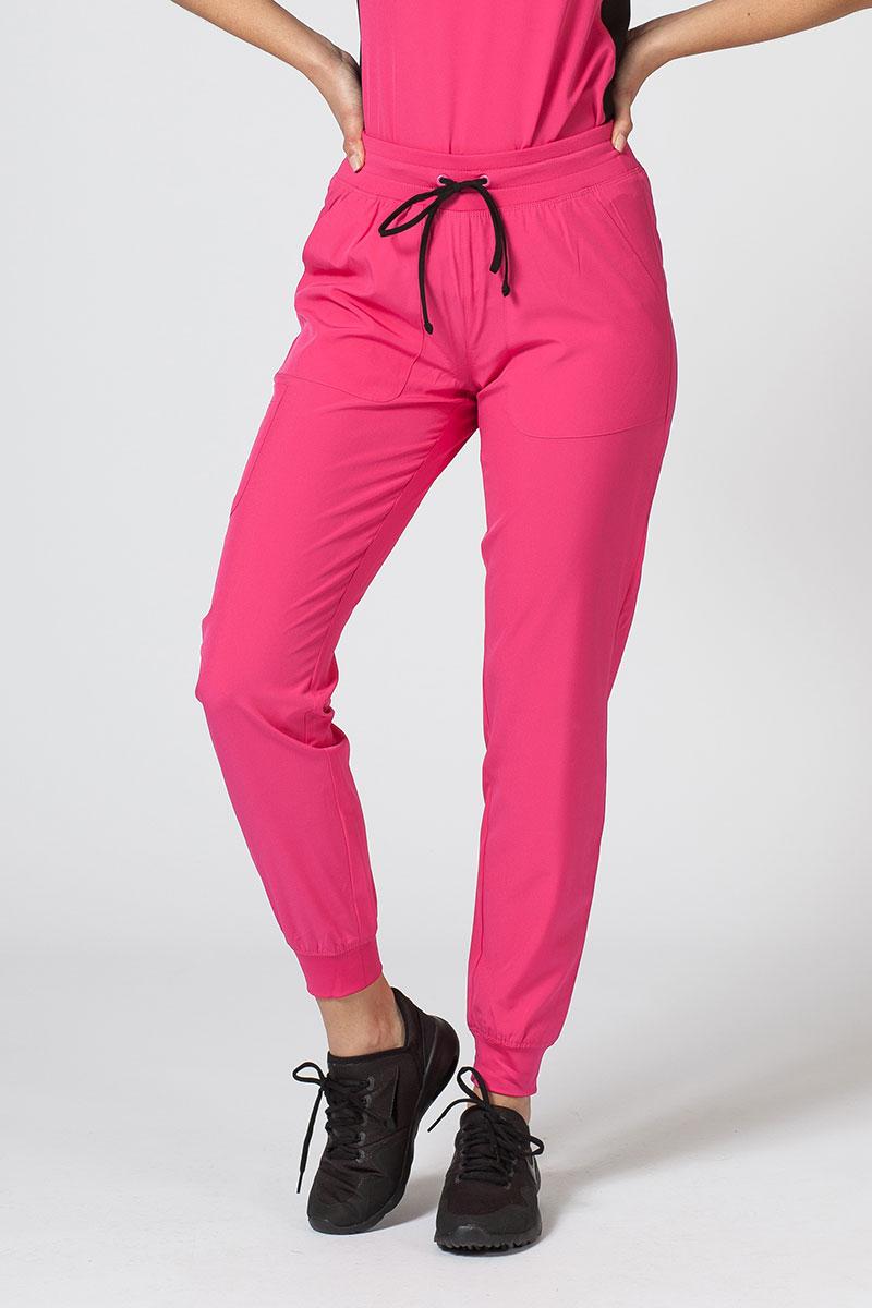 Spodnie damskie Maevn Matrix Impulse Jogger różowe