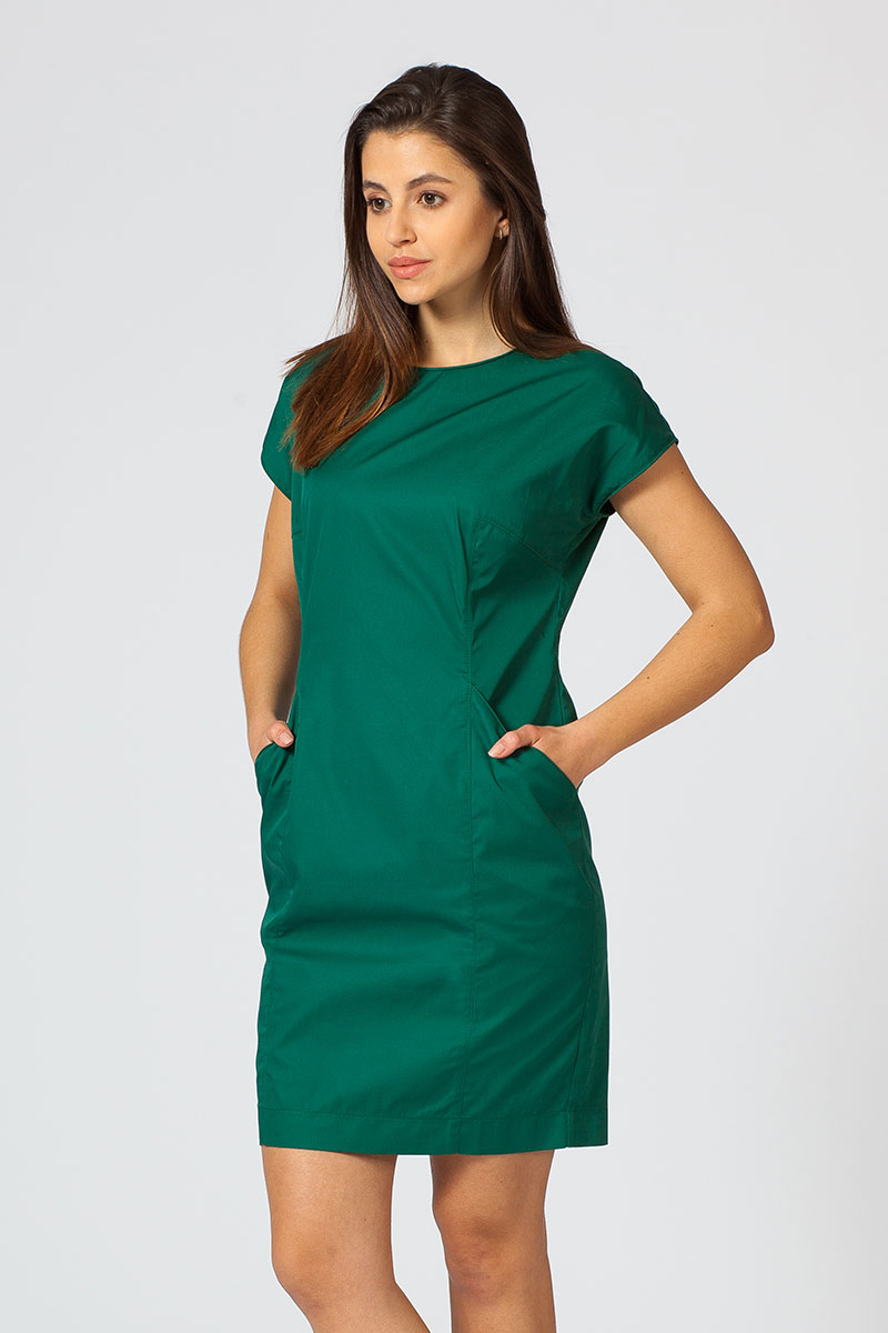 Sukienka Sunrise Uniforms Elite butelkowa zieleń